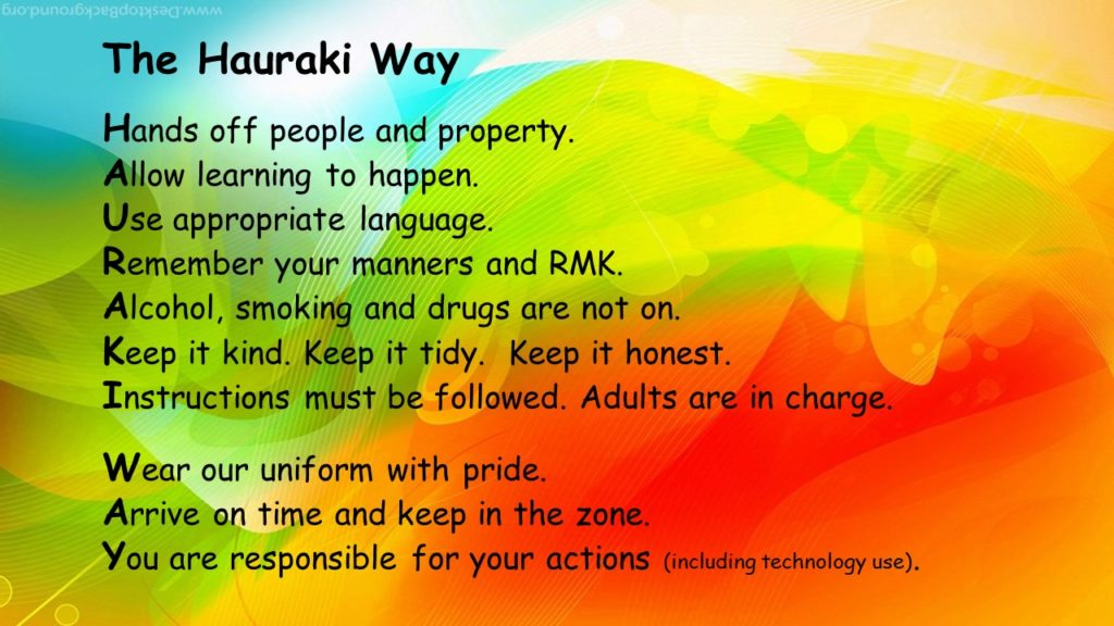 Hauraki Way Poster